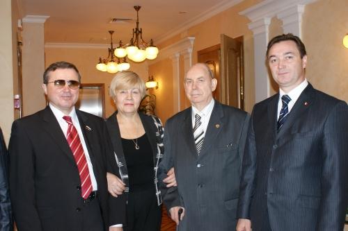 В администрации Президента УР. Смолин О.Н., Суслова В.А., Пономарев К.А., Кузнецов А.Л.